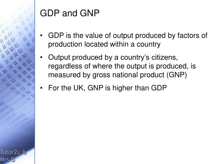 the measure of gross national product in poor countries The gross domestic product (gdp) is a measure of economic gdp is that countries with higher per (gross domestic product) is a poor measure of.