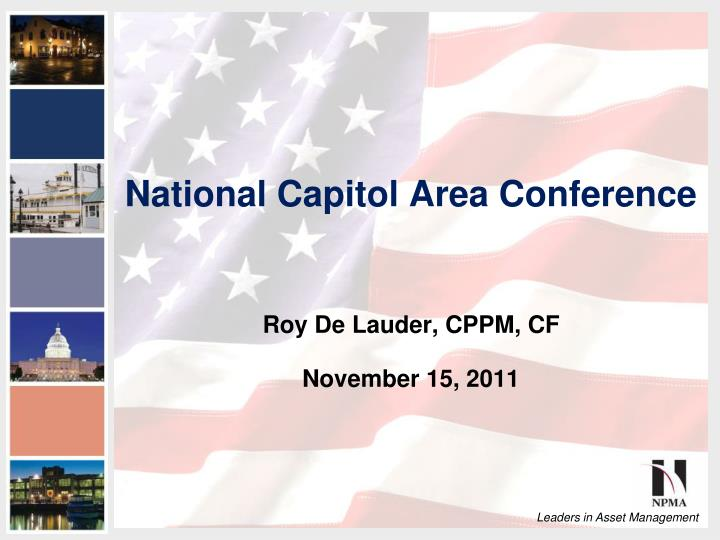 national capitol area conference n.