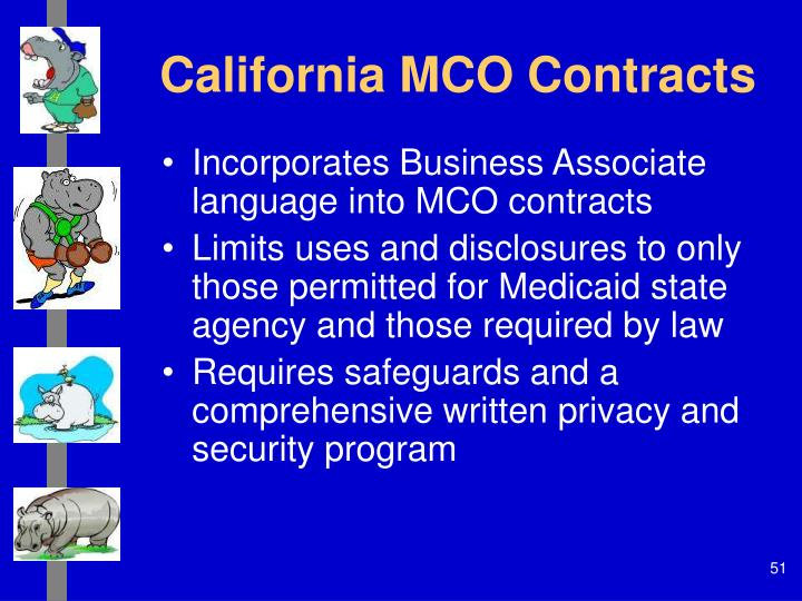California MCO Contracts