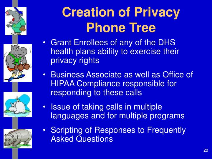 Creation of Privacy