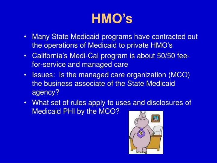 HMO's