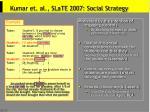 kumar et al slate 2007 social strategy