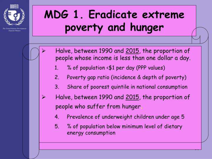 eradicate extreme poverty hunger essay To eradicate extreme poverty and hunger is one of the eight millennium development goals (mdgs) more about is it possible to end world poverty essay.