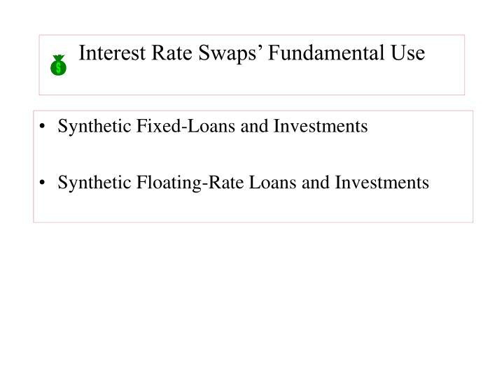 Interest Rate Swaps' Fundamental Use