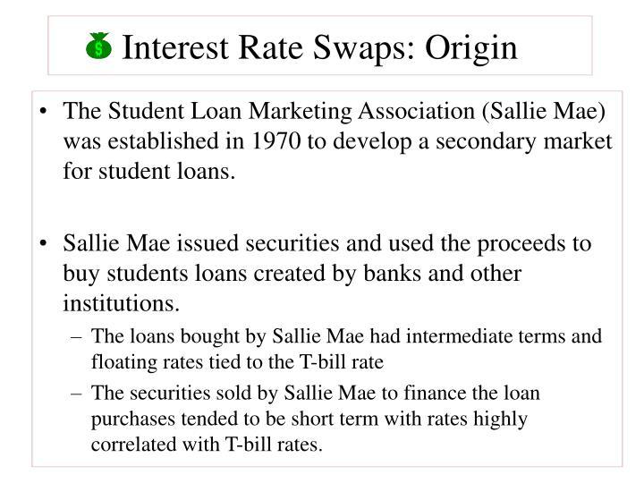 Interest rate swaps origin