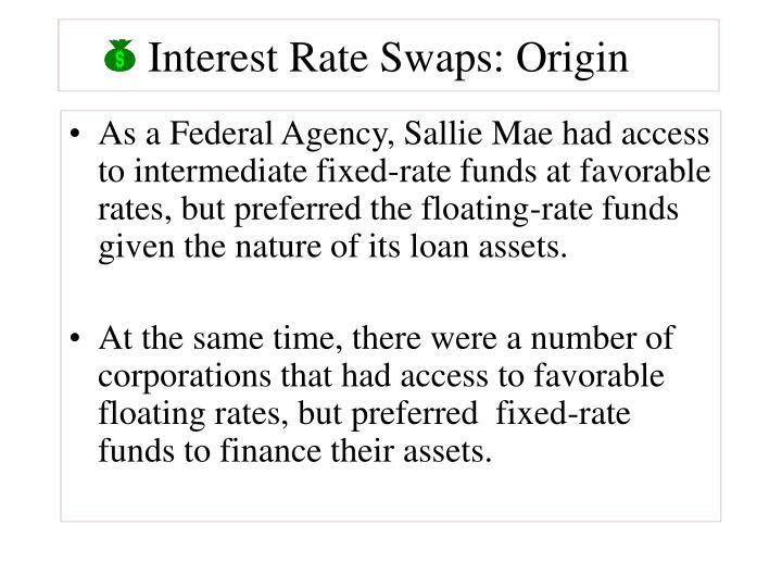 Interest rate swaps origin1
