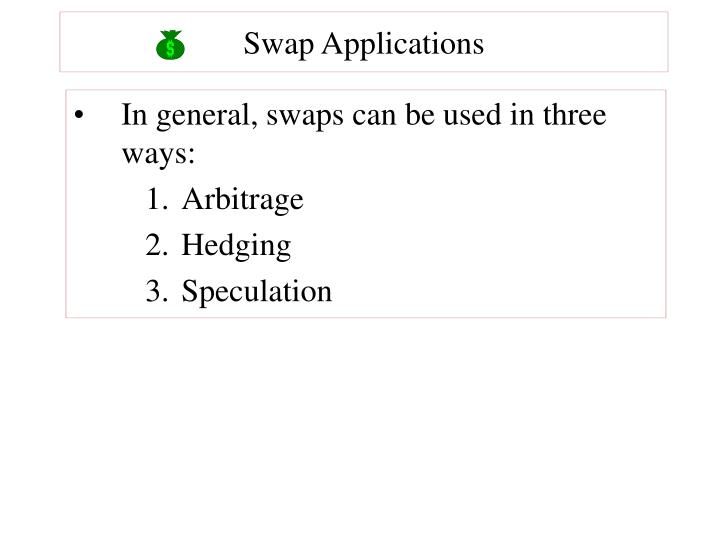 Swap Applications