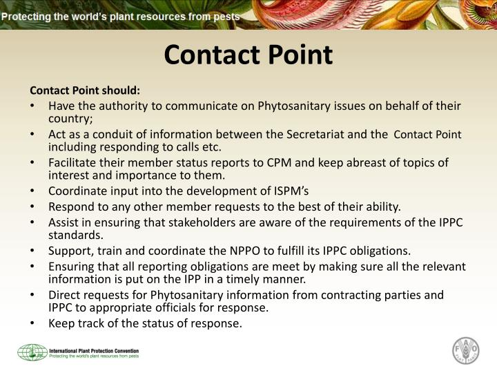 Contact Point