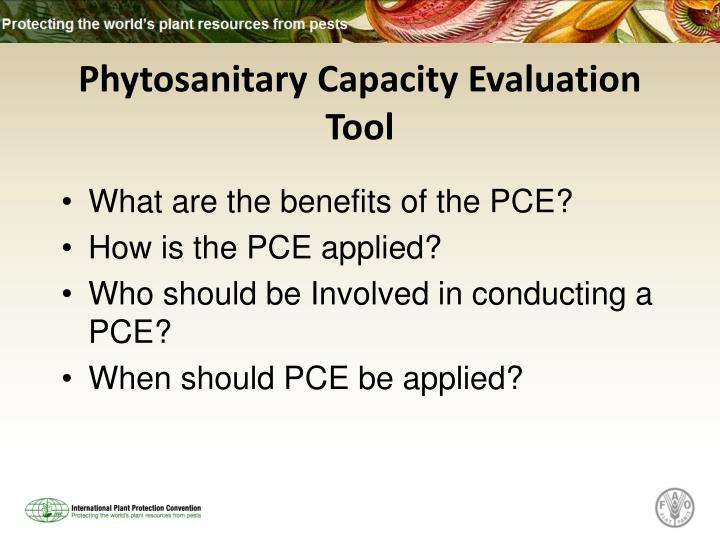 Phytosanitary Capacity Evaluation Tool