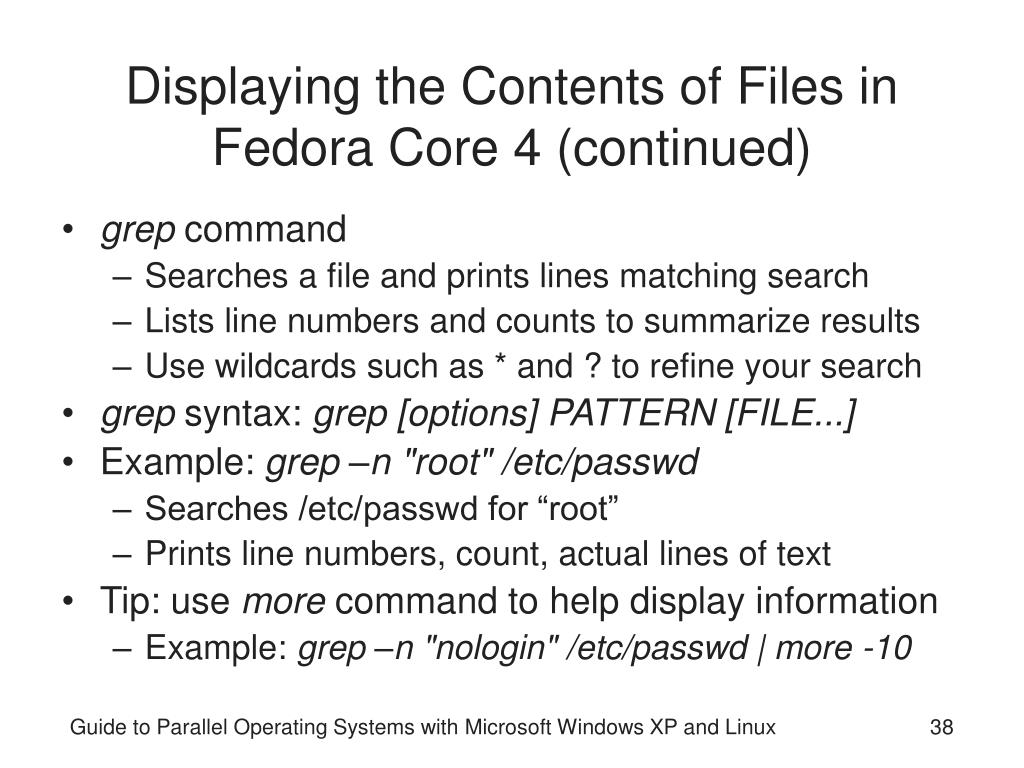 PPT - Guide to Parallel Operating Systems with Microsoft