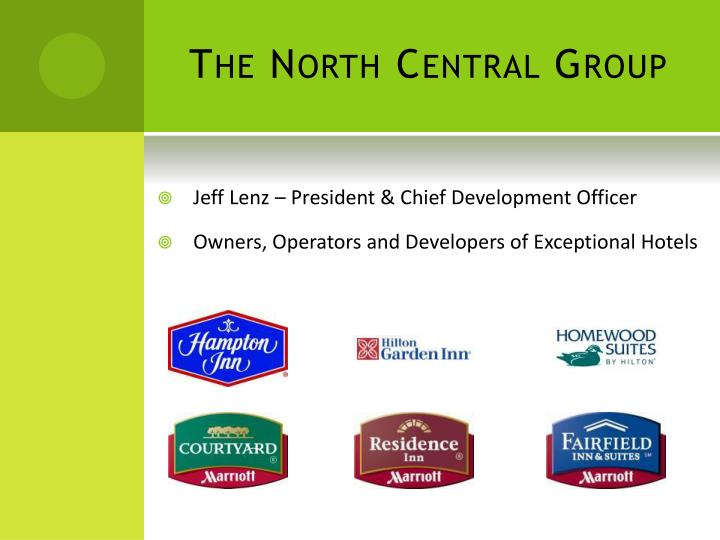 the north c entral g roup