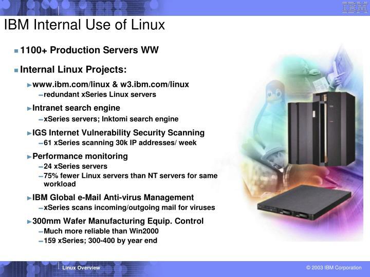 IBM Internal Use of Linux
