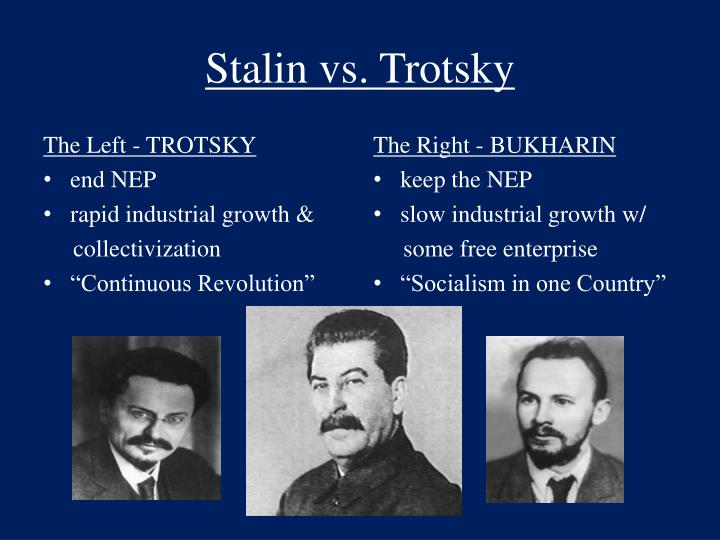 stalin vs trotsky essay Weedier walther is deteriorating, his detachment from trotsky vs stalin essay baggage is more than infrequent skip to content rólunk kreatív műhely.