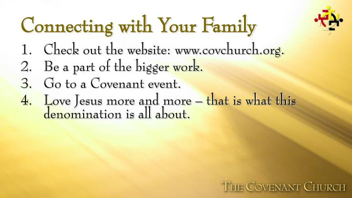 Connecting with Your Family