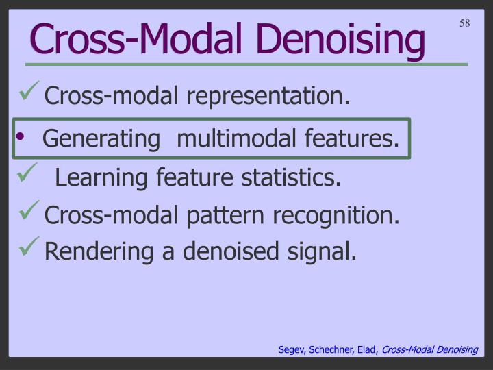 Cross-Modal