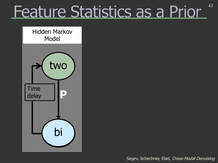 Feature Statistics as a Prior