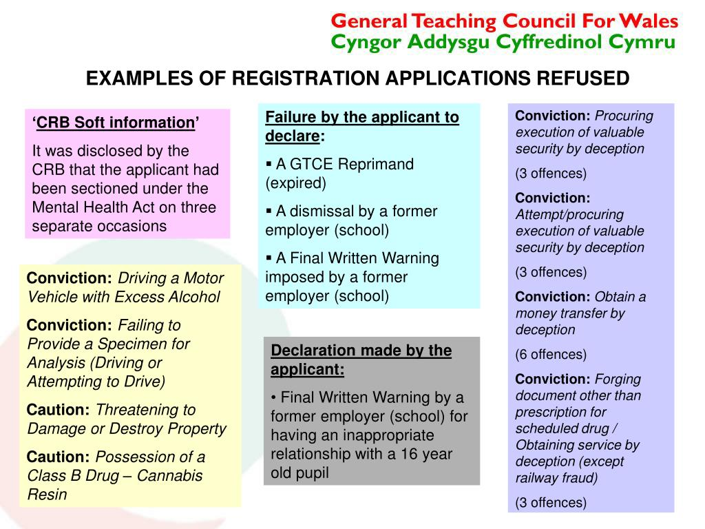 PPT - TOWARDS REGISTRATION - CONTINUING THE