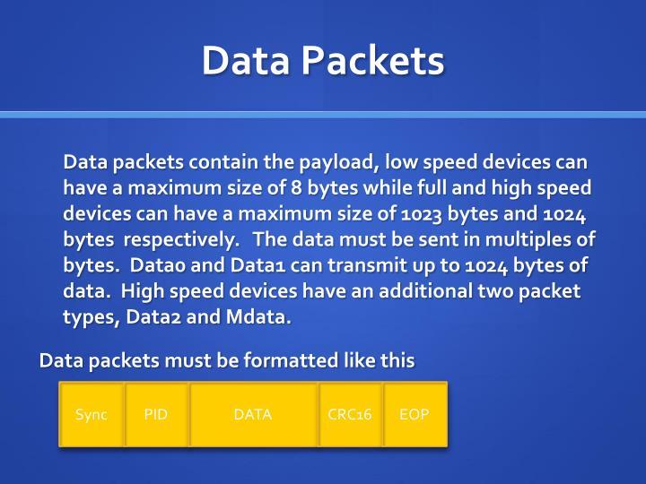 Data Packets
