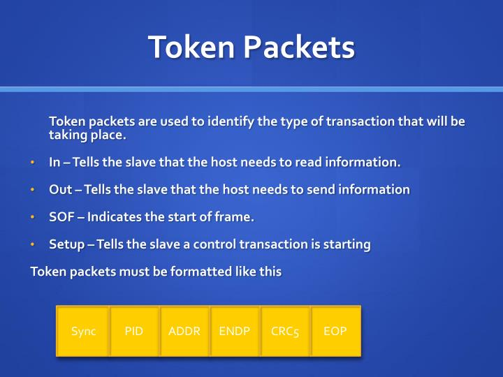 Token Packets