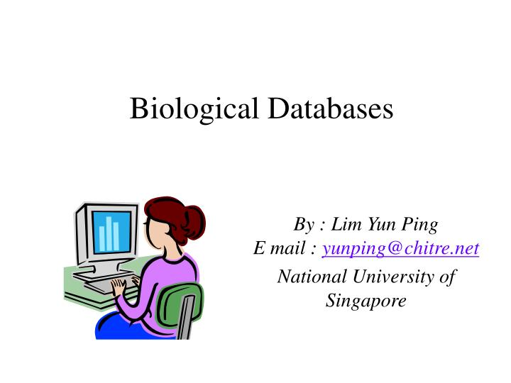 Biological databases