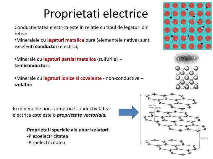Proprietati electrice