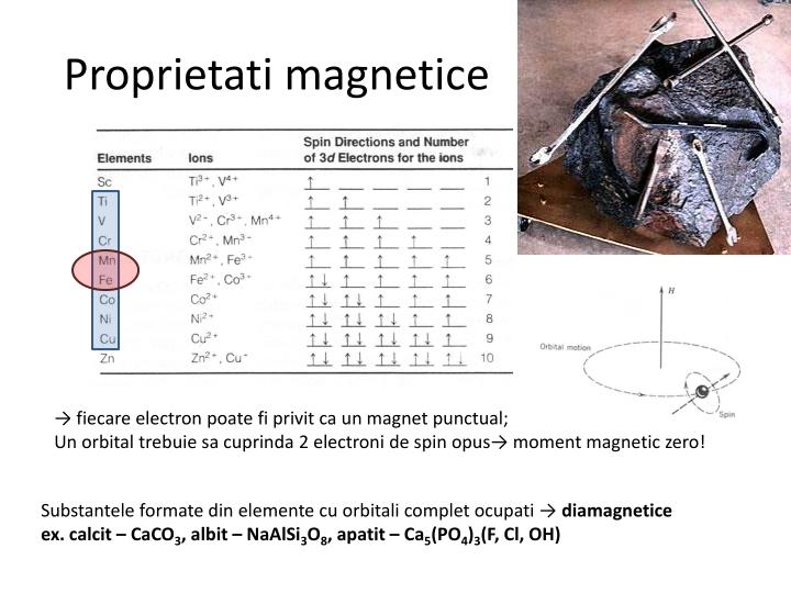 Proprietati magnetice