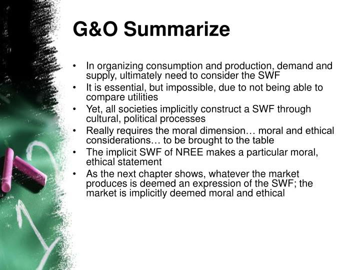 G&O Summarize