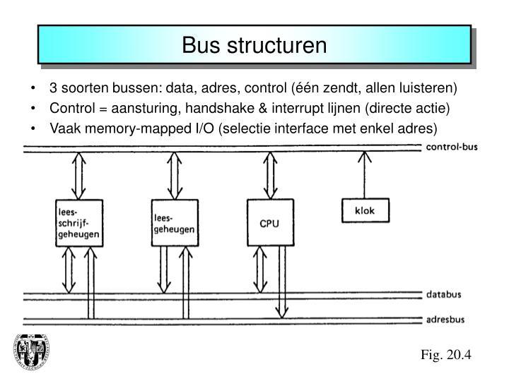 Bus structuren