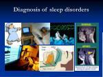 diagnosis of sleep disorders