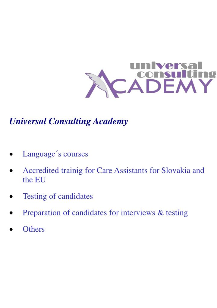 Universal Consulting Academy