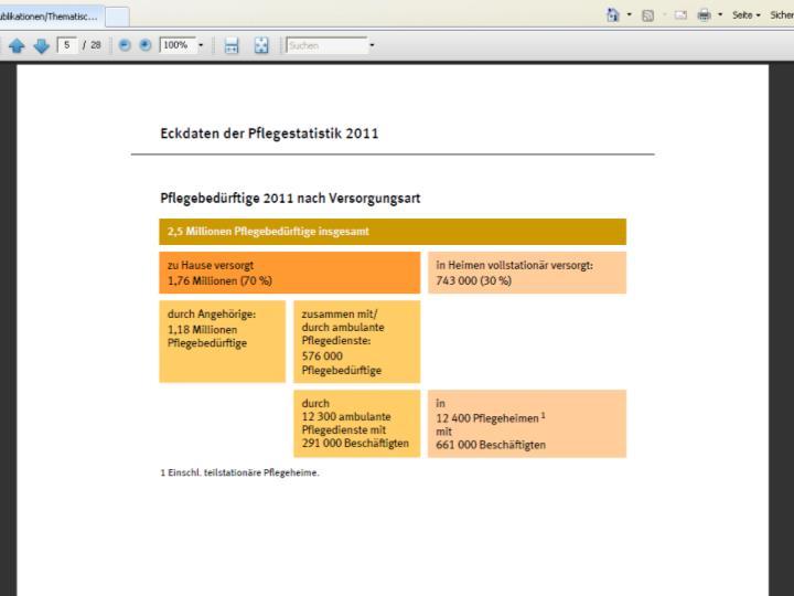Quelle: Bundesamt für Statistik. Destatis. 2013
