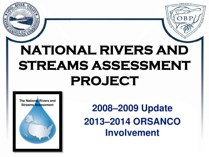 national rivers and streams assessment project n.