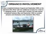 orsanco involvement