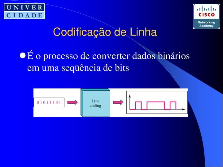 Codificação de Linha