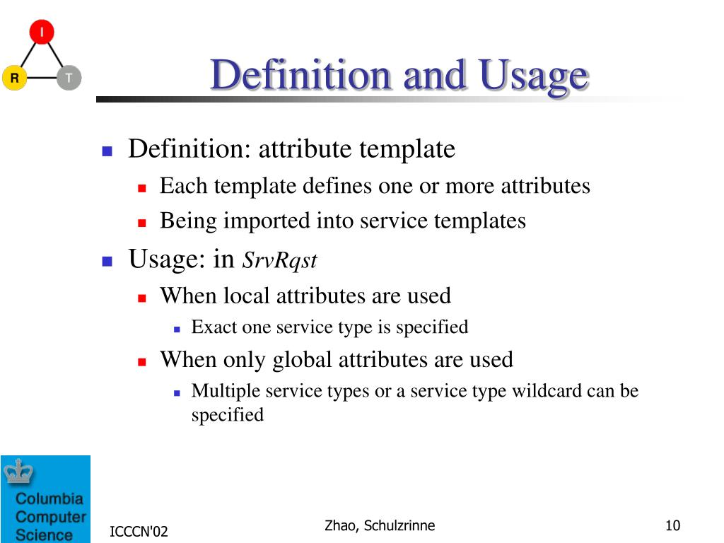 PPT - Improving SLP Efficiency and Extendability by Using Global