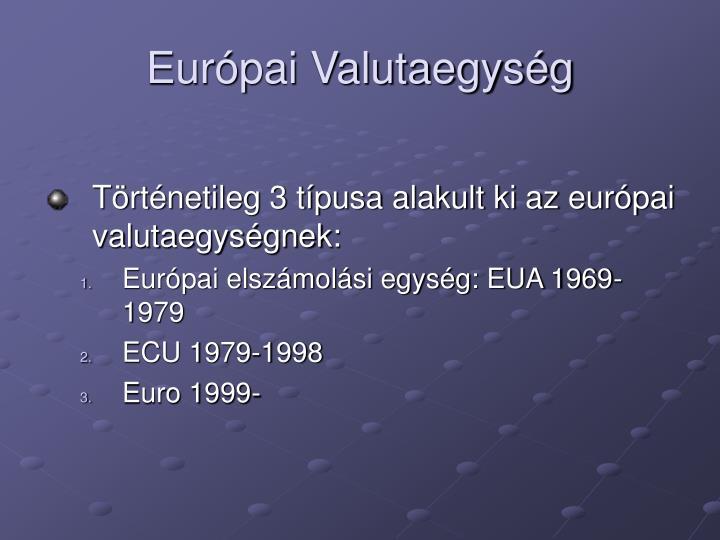 Európai Valutaegység