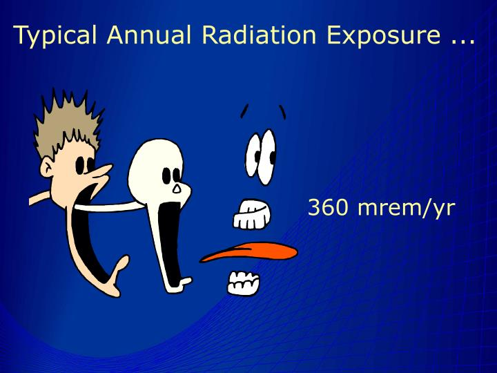Typical Annual Radiation Exposure ...