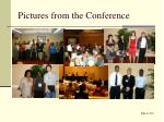 pictures from the conference