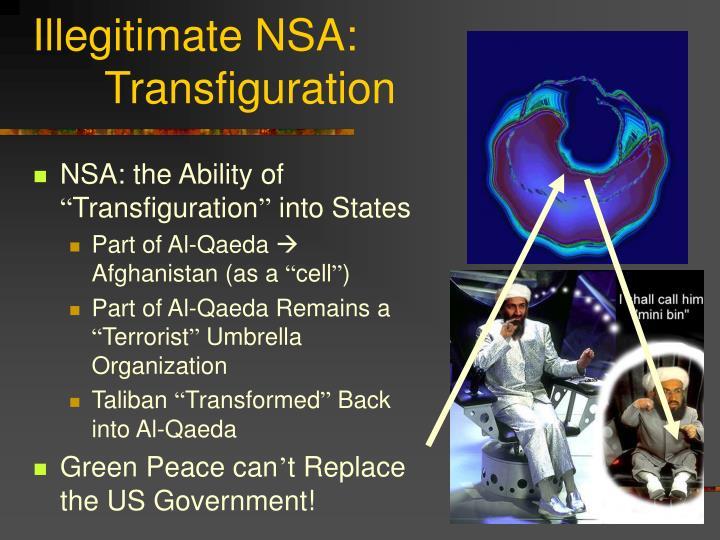 Illegitimate NSA: