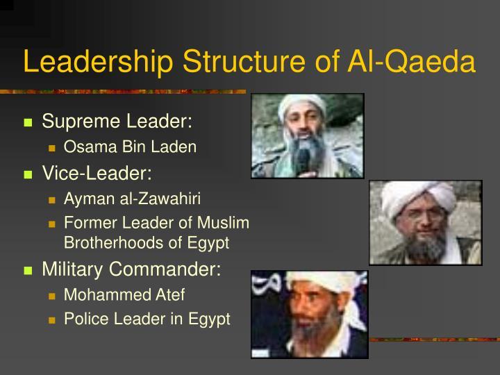 Leadership Structure of Al-Qaeda