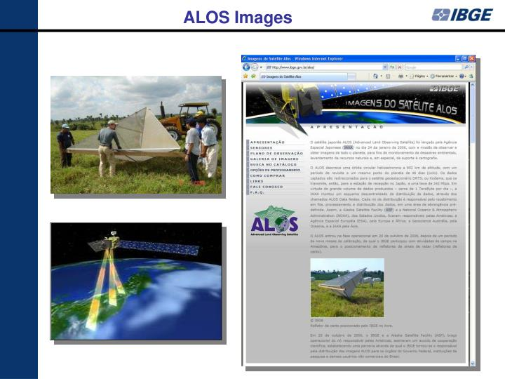 ALOS Images