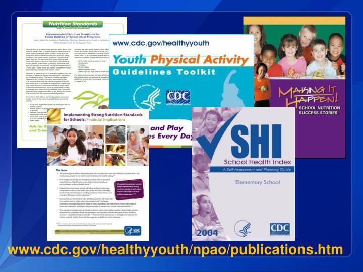 www.cdc.gov/healthyyouth/npao/publications.htm
