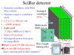 scibar detector