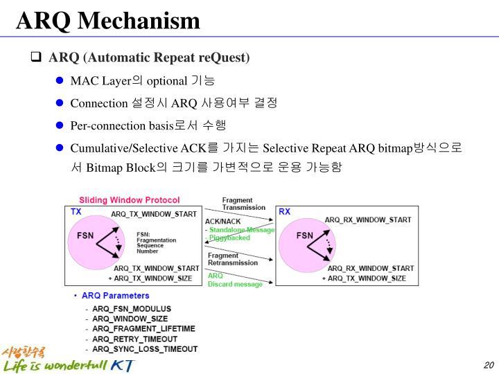 ARQ Mechanism