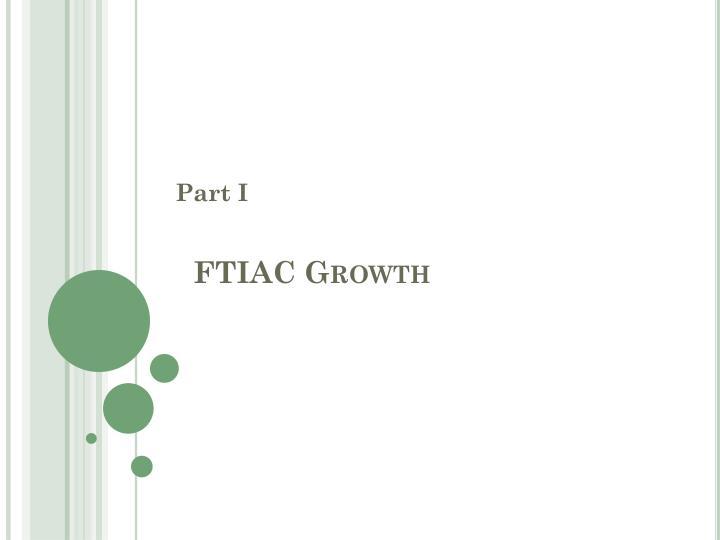 FTIAC Growth