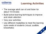 learning activities1