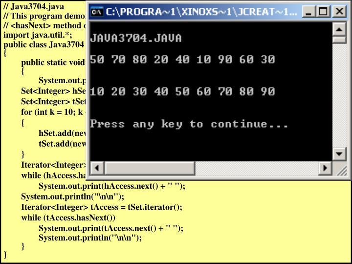 // Java3704.java