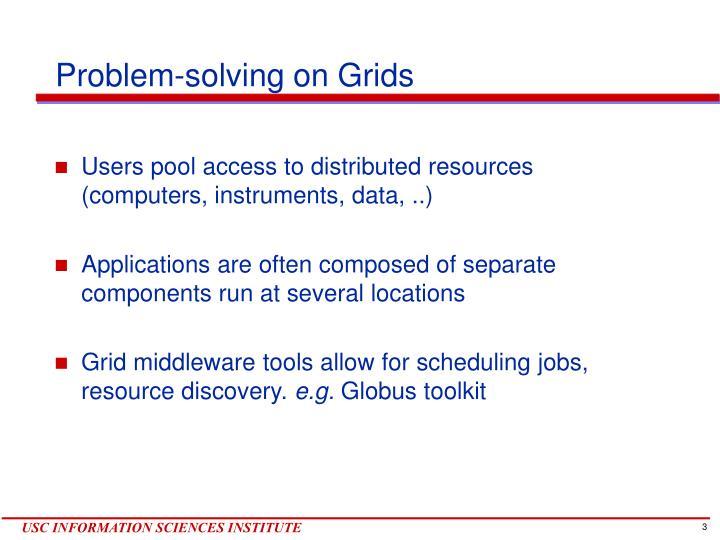 Problem solving on grids