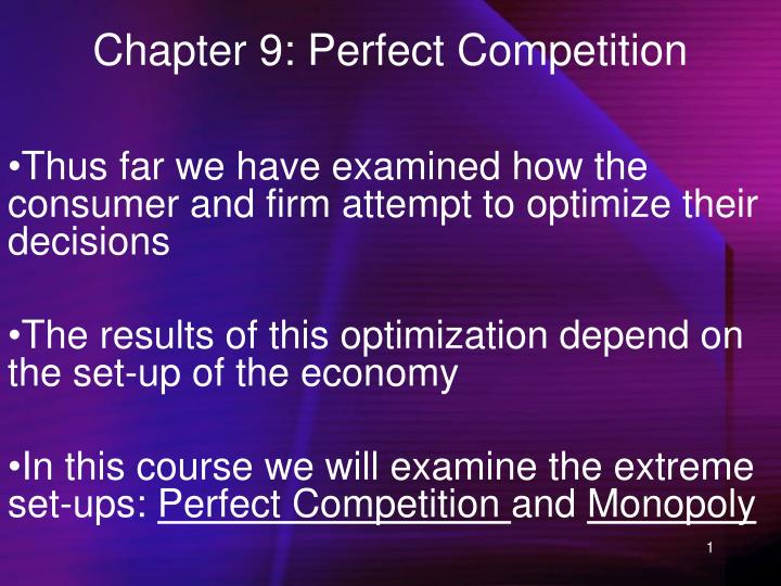 chapter 9 perfect competition n.
