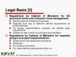legal basis 3